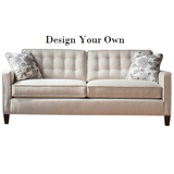 Custom Comfortable High Quality USA Made Furniture Store Indianapolis Sofa