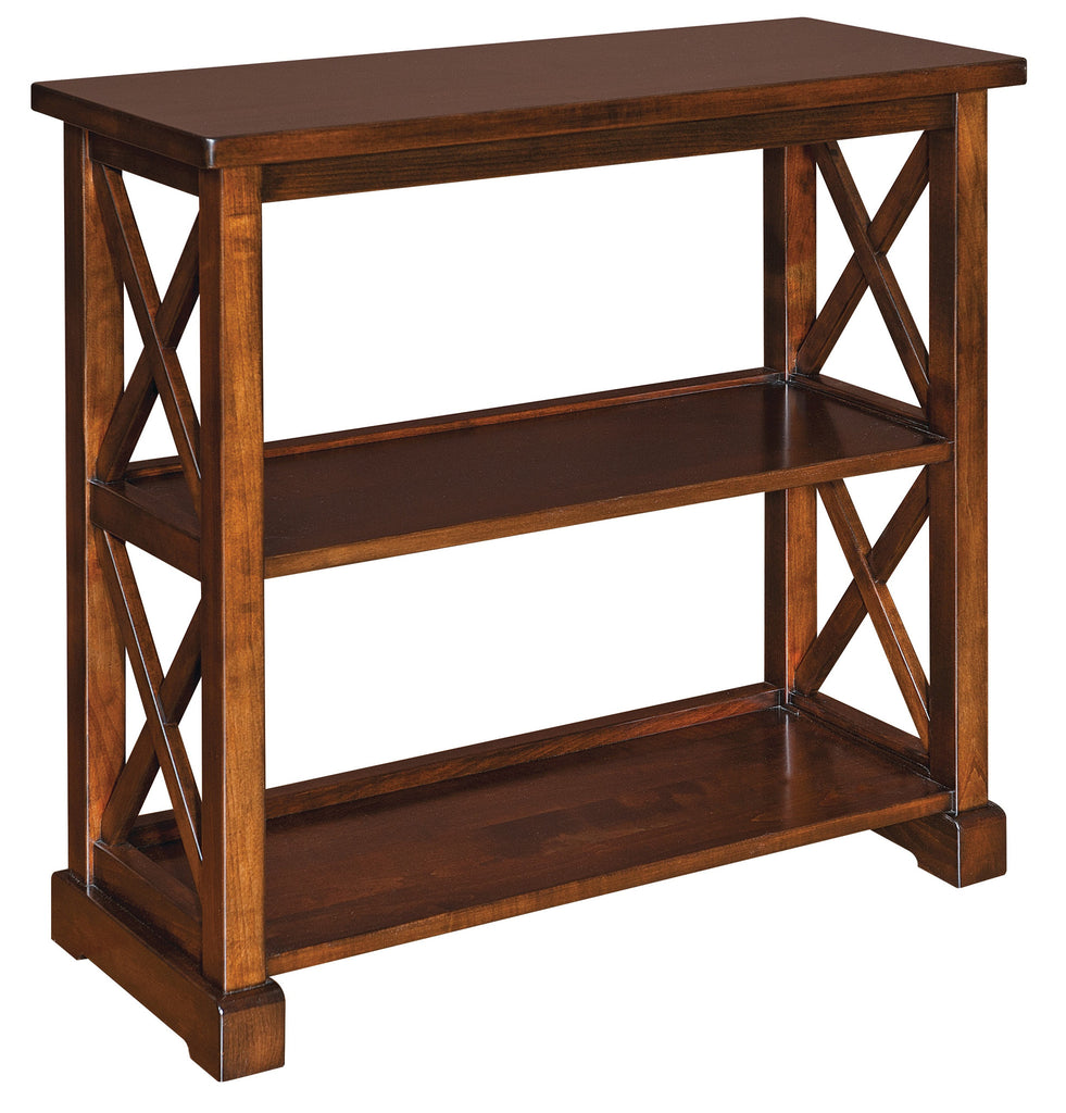 Good Solid Hardwood Dexter Bookcase Office Furniture  HomePlex Furniture  Featuring USA Made Quality Furniture