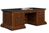 Executive Desk Solid Hardwood Paris Series Office Furniture HomePlex Furniture Indianapolis In