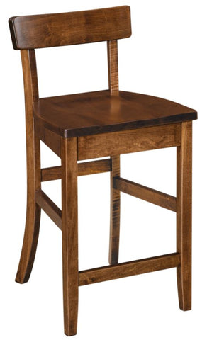 Furniture Store Indianapolis Dining Room Eddison Pub Chair Solid Hardwood Custom High Quality USA Made