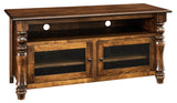 Furniture Store Indianapolis Living Room TV Console Solid Wood Custom USA Made