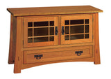 Solid Hardwood Modesto TV Console