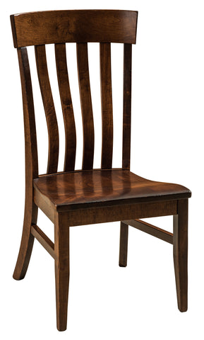 Solid Hardwood Dining Room Galena Chair - HomePlex Furniture Featuring USA Made Quality Furniture