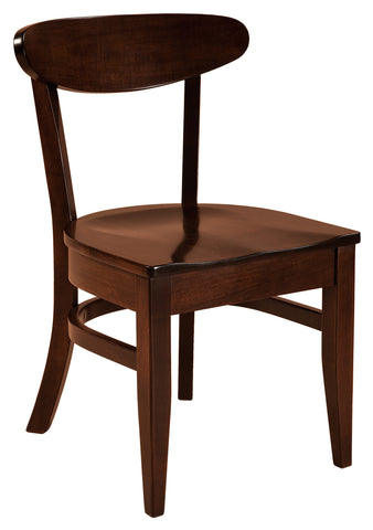 Solid Hardwood Dining Room Hawthorn Chair - HomePlex Furniture Featuring USA Made Quality Furniture