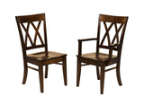 Solid Hardwood Dining Room Herrington Chair - HomePlex Furniture Featuring USA Made Quality Furniture