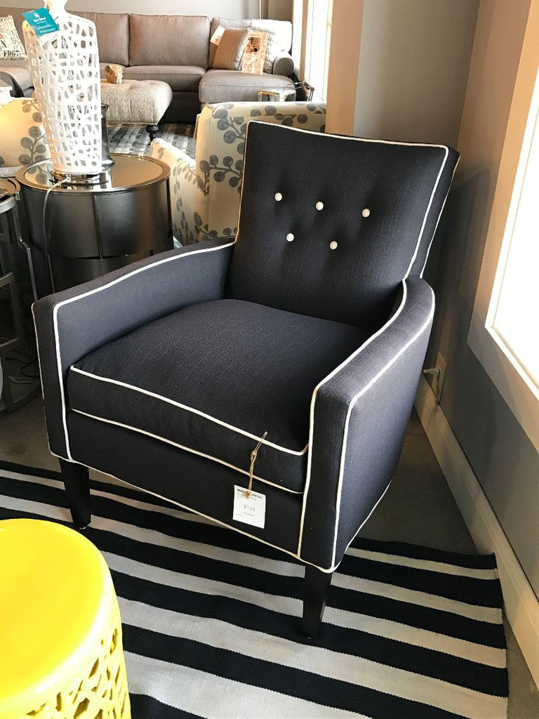 Premier Boyd Accent Chair At HomePlex Furniture Featuring USA Made Quality Floor Sample