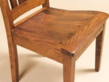 Solid Hardwood Dining Room Jacoby Chair - HomePlex Furniture Featuring USA Made Quality Furniture