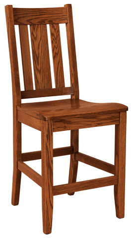 Solid Hardwood Dining Room Jacoby Chair - HomePlex Furniture Featuring USA Made Quality Furnitur