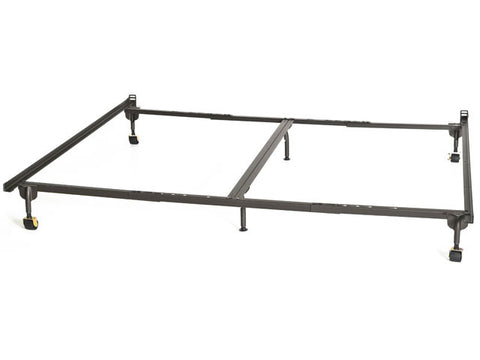 King Size Bolt-On With Center Support Headboard Only Bed Metal  Rails --- In Stock ---