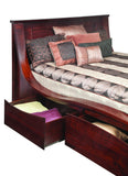 Kingston Collection Solid Hardwood Bed Drawer at HomePlex Furniture USA made Quality Furniture