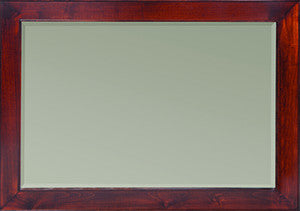 Kingston Collection Solid Hardwood Landscape Mirror at HomePlex Furniture USA made Quality Furniture