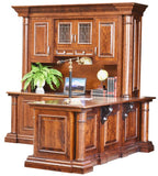 L Desk Solid Hardwood Paris Series Office Furniture HomePlex Furniture Indianapolis In