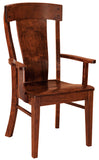 Solid Hardwood Dining Room Lacombe Chair - HomePlex Furniture Featuring USA Made Quality Furniture