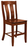 Solid Hardwood Dining Room Laurie Chair - HomePlex Furniture Featuring USA Made Quality Furniture