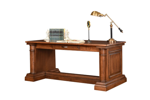 Library Table Solid Hardwood Paris Series Office Furniture HomePlex Furniture  Indianapolis In