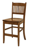 Solid Hardwood Dining Room Linzee Chair - HomePlex Furniture Featuring USA Made Quality Furniture
