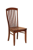 Solid Hardwood Dining Room Malibu Chair - HomePlex Furniture Featuring USA Made Quality Furniture