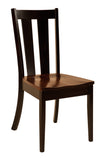 Solid Hardwood Dining Room Newberry Chair - HomePlex Furniture Featuring USA Made Quality Furniture