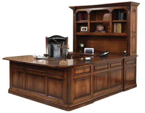Cherry custom home office desk Plain Solid Hardwood Paris Series Office Furniture Homeplex Furniture Indianapolis In Changeyourviewinfo Solid Hardwood Shaped Desk Lexington Series Office Homeplex