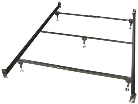 Queen Size Bolt-On Headboard and Footboard With Center ...