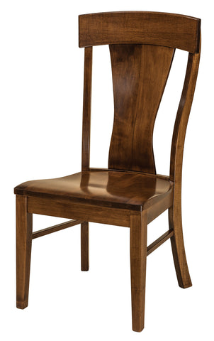 Solid Hardwood Dining Room Ramsey Chair - HomePlex Furniture Featuring USA Made Quality Furniture