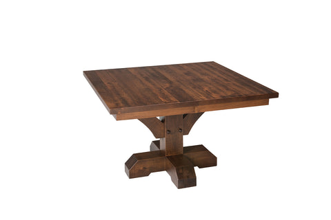 Solid Hardwood Dining Room Table Furniture USA Made Heirloom Quality - HomePlex Furniture in Indianapolis, Indiana
