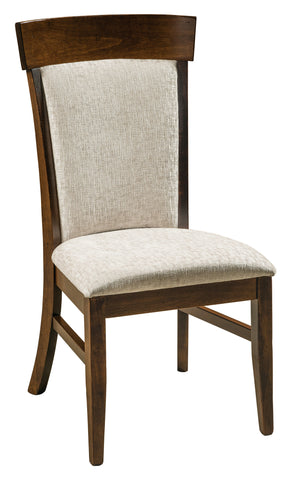 Solid Hardwood Dining Room Riverside Chair - HomePlex Furniture Featuring USA Made Quality Furnitur