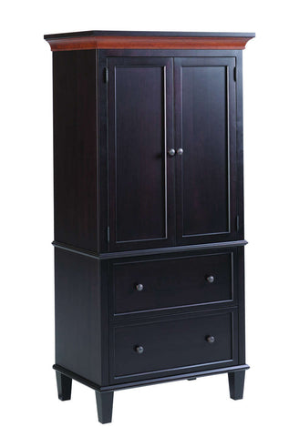 Rockport Collection Armoire Solid Hardwood Bedroom at HomePlex Furniture USA made Quality Furniture