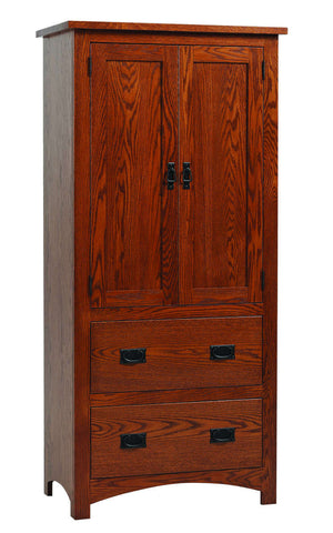 Siesta Collection Armoire Solid Hardwood Bedroom at HomePlex Furniture USA made Quality Furniture