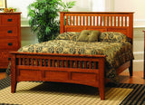 Siesta Collection Bed Solid Hardwood Bedroom at HomePlex Furniture USA made Quality Furniture - Copy