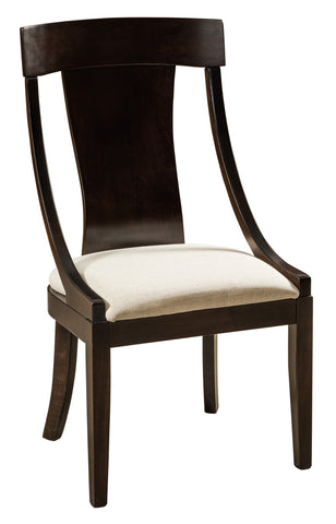 Solid Hardwood Dining Room Silverton Chair - HomePlex Furniture Featuring USA Made Quality Furniture