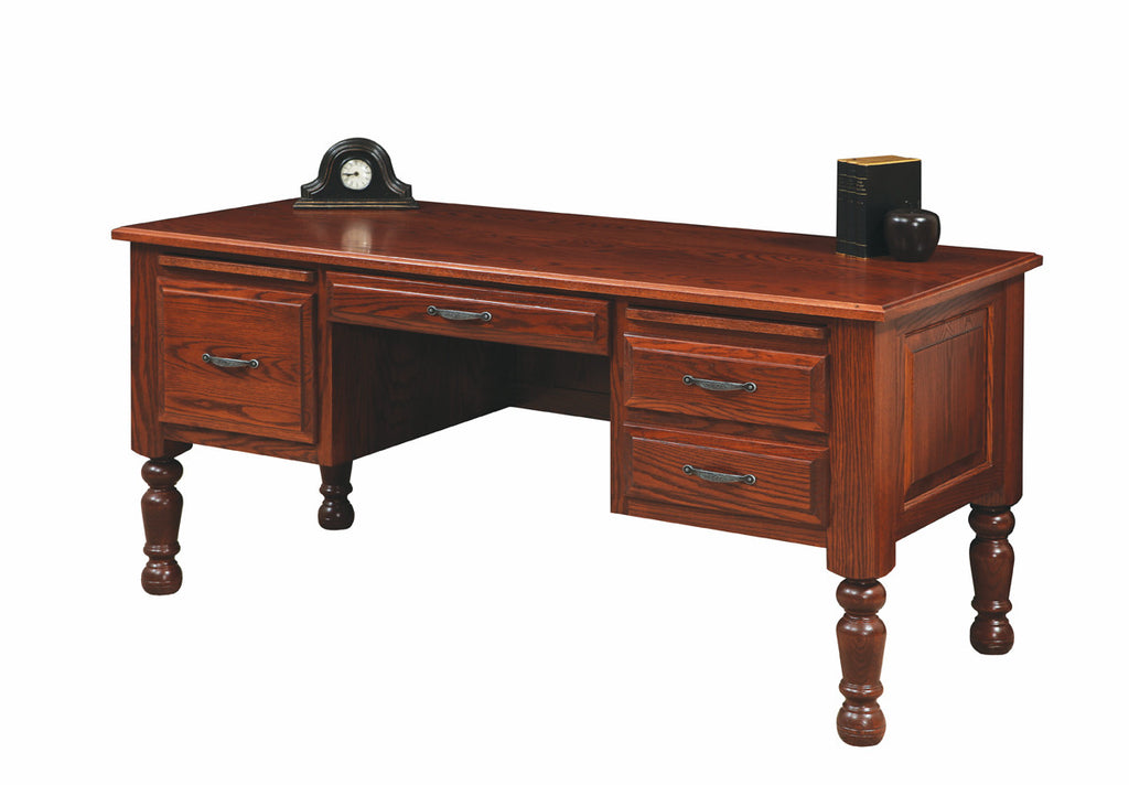 Solid Hardwood Lap Top Desk Traditional American Series Office Furniture    HomePlex Furniture Featuring USA Made Quality Furniture
