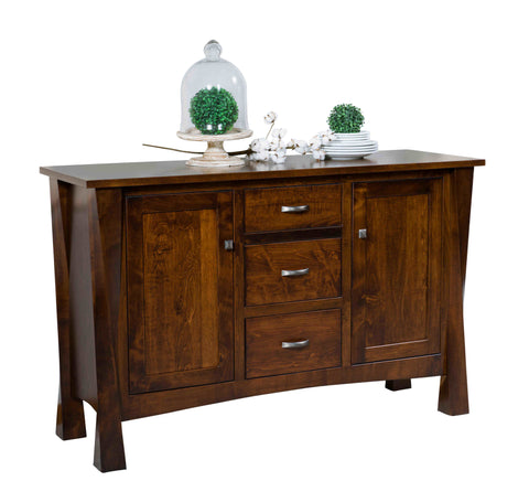 Bon Solid Hardwood Buffet Hutch USA Made Dining Room Furniture HomePlex  Furniture Featuring USA Made Quality Furniture