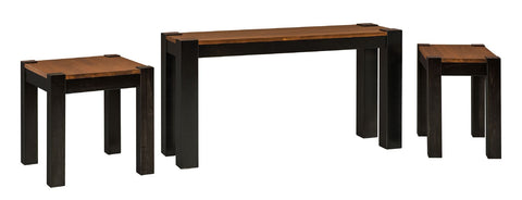 Solid Hardwood Coffee End Sofa Tables Avion Collection Heirloom Quality HomePlex Furniture Indianapolis Indiana