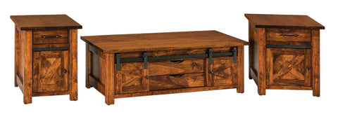 Solid Hardwood Coffee End Sofa Tables Heirloom Quality HomePlex Furniture Indianapolis Indiana