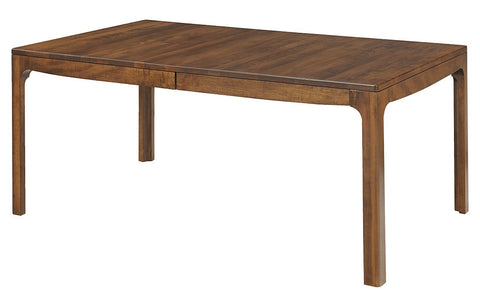Solid Hardwood Dining Room Copenhagen Table - HomePlex Furniture Featuring USA Made Quality Furnitur