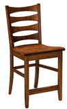 Solid Hardwood Dining Room Armanda Chair - HomePlex Furniture Featuring USA Made Quality Furniture