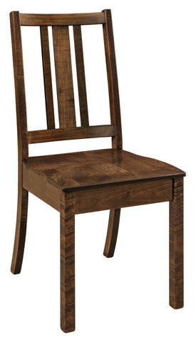 Solid Hardwood Dining Room Eco Chair - HomePlex Furniture Featuring USA Made Quality Furniture