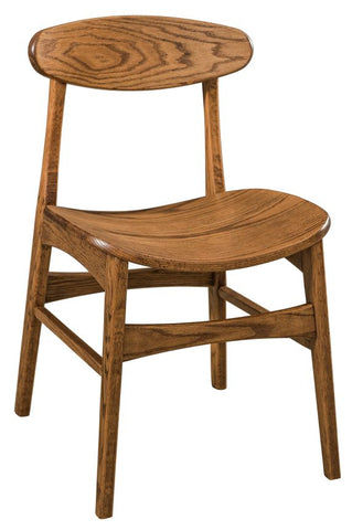 Solid Hardwood Dining Room Marque Chair - HomePlex Furniture Featuring USA Made Quality Furniture