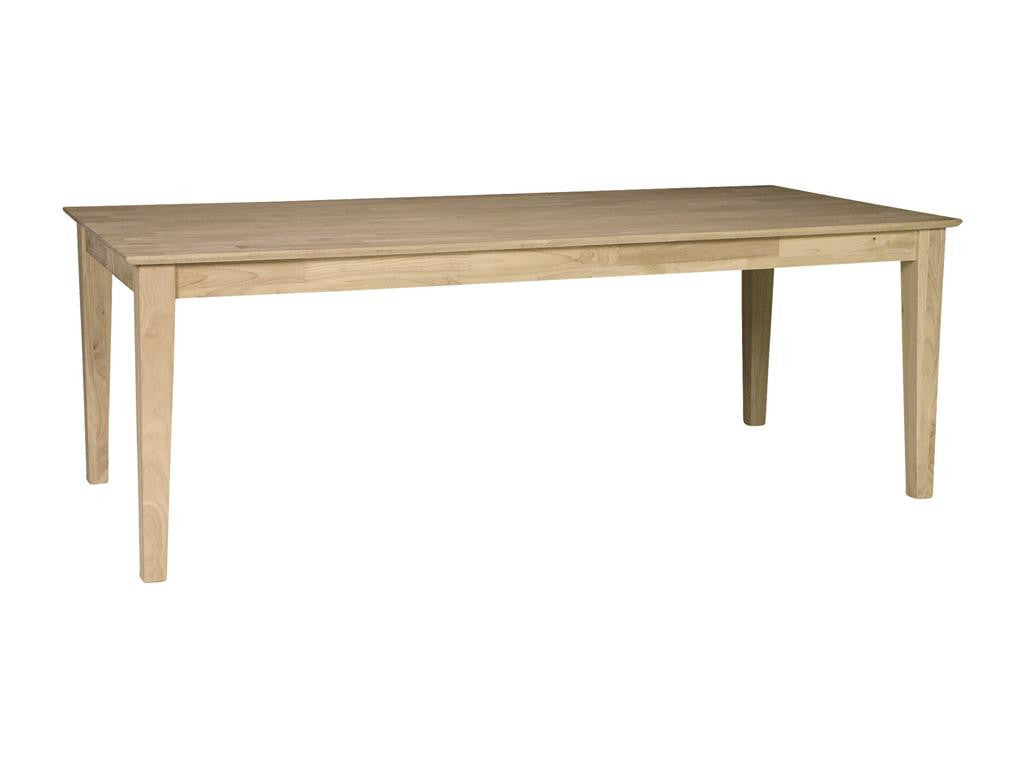 Solid Wood T 4084S Dining Room Table