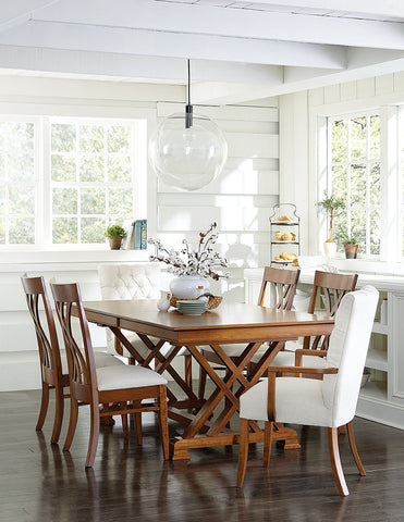 Hayerly Solid Hardwood Dining Room Tables Indianapolis Fishers And Carmel
