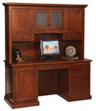 Solid Hardwood Office Furniture Executive Desk HomePlex Furniture Featuring Quality USA Furntiure Indianapolis Indiana