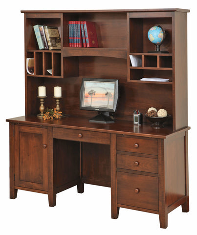 Solid Hardwood Manhattan Series Office Furniture HomePlex Furniture Featuring Quality USA Furntiure Indianapolis Indiana