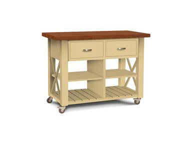 Solid Hardwood WC-12B Kitchen Island at HomePlex Furniture Featuring USA made Quality Furniture