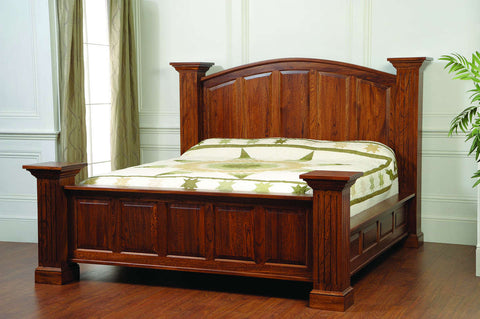 Washington Master Collection Bed Solid Hardwood Bedroom at HomePlex Furniture USA made Quality Furniture