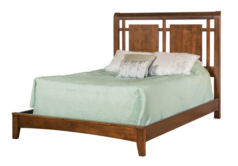Solid Hardwood Bedroom Set - HomePlex Furniture Featuring USA Made Quality Furniture