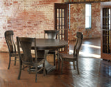 Solid Hardwood Dining Room Westin Chair - HomePlex Furniture Featuring USA Made Quality Furniture