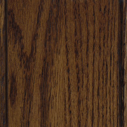 Acorn on Oak wood finish sample