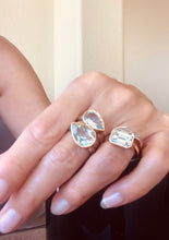 Light Blue Topaz 2 Metals