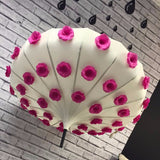 Flower Pot Umbrella - Floral Umbrella - Umbrella - Pagoda Umbrella